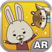 iPhone、iPadアプリ「紙兎ロペARカメラ」のアイコン
