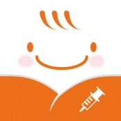 iPhone、iPadアプリ「予防接種ナビ スケジュール管理機能で子育て中のママやパパをサポート」のアイコン