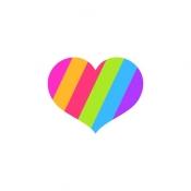 iPhone、iPadアプリ「カップルで楽しむ - Heart is in」のアイコン