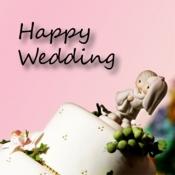 iPhone、iPadアプリ「結婚式でオリジナル合成ビデオが撮影できる Happy Wedding! –effect movie-」のアイコン