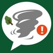 iPhone、iPadアプリ「竜巻アラート: お天気ナビゲータ」のアイコン