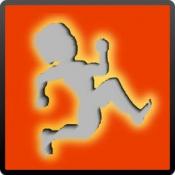 iPhone、iPadアプリ「幅跳びで家賃を返すゲーム 無料で人気!」のアイコン