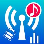 iPhone、iPadアプリ「バッ通ア - バッテリーと通信の関係+アラーム」のアイコン
