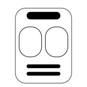 iPhone、iPadアプリ「Big Daily Calendar - 文字の大きな日めくりカレンダー」のアイコン