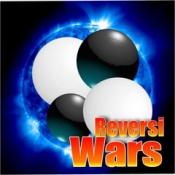 iPhone、iPadアプリ「リバーシ大戦 【オンライン対戦ゲーム、初心者歓迎、完全無料】」のアイコン