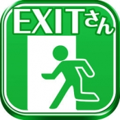 iPhone、iPadアプリ「脱出ゲーム 脱出EXITさん」のアイコン