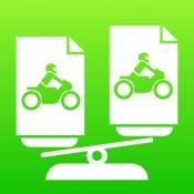 iPhone、iPadアプリ「一番安いバイク保険がわかる!」のアイコン