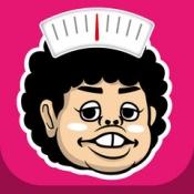 iPhone、iPadアプリ「体重記録でダイエット!ジョニーと一緒に朝夜記録」のアイコン