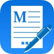 iPhone、iPadアプリ「マニュアル作成」のアイコン