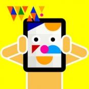 iPhone、iPadアプリ「色とカタチでおめんをデザイン!WA!SK」のアイコン