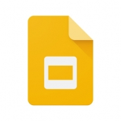 iPhone、iPadアプリ「Googleスライド」のアイコン