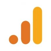 iPhone、iPadアプリ「Google Analytics」のアイコン