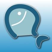 iPhone、iPadアプリ「教えて!魚」のアイコン