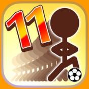 iPhone、iPadアプリ「11人いればサッカーできる」のアイコン