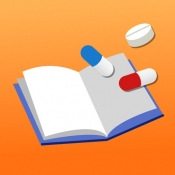 iPhone、iPadアプリ「ヘルスケア手帳-待たずにらくらく!便利な電子お薬手帳」のアイコン