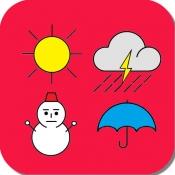 iPhone、iPadアプリ「気象予報士プチ講座 −全講座パック−」のアイコン