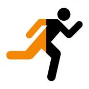 iPhone、iPadアプリ「run.App – GPSとランニング」のアイコン