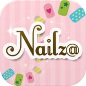 iPhone、iPadアプリ「Nailz@ - ネイルカラー診断や貴女に似合うデザインコーディネートができる専用アプリ -」のアイコン