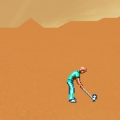 iPhone、iPadアプリ「Desert Golfing」のアイコン