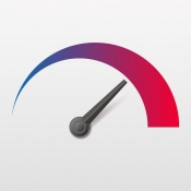 iPhone、iPadアプリ「ドコモスピードテスト」のアイコン