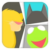 iPhone、iPadアプリ「Guess The Icon - What's the Famous Movie, Song, Celebrity Puzzle Pop Quiz.」のアイコン