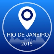 iPhone、iPadアプリ「リオデジャネイロオフライン地図+シティガイドナビゲーター、アトラクションとトランスポート」のアイコン