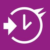 iPhone、iPadアプリ「TimeAndEntry」のアイコン