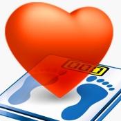 iPhone、iPadアプリ「健康手帳:運動,検診,血液の記録で病気診断と健康管理」のアイコン