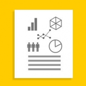 iPhone、iPadアプリ「Infographic Maker - Create Chart and Graph」のアイコン