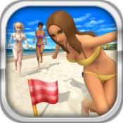 iPhone、iPadアプリ「ビーチフラッグパラダイス」のアイコン