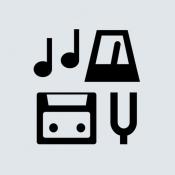 iPhone、iPadアプリ「音楽練習ツール - メトロノーム, チューナー, レコーダー」のアイコン