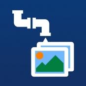 iPhone、iPadアプリ「ImageDrain」のアイコン