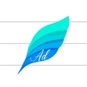 iPhone、iPadアプリ「文字数カウントメモ」のアイコン