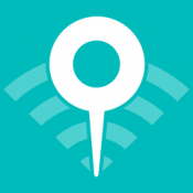 iPhone、iPadアプリ「WifiMapper – free Wifi maps, find cafe hotspots, travel without roaming fees」のアイコン