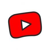 iPhone、iPadアプリ「YouTube Kids」のアイコン