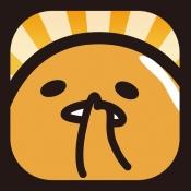 iPhone、iPadアプリ「さわって!ぐでたま」のアイコン