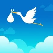 iPhone、iPadアプリ「コウノトリ:カップルで共有できる『妊娠・妊活サポート』アプリ」のアイコン