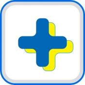 iPhone、iPadアプリ「お薬手帳プラス 日本調剤の薬局へ処方せんの事前送信ができる」のアイコン