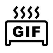 iPhone、iPadアプリ「GIFトースター (GIF生成)」のアイコン