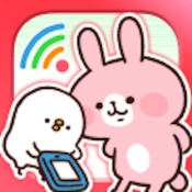 iPhone、iPadアプリ「カナヘイの通信量チェッカー」のアイコン