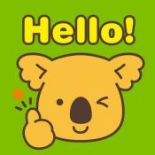 iPhone、iPadアプリ「えいごのコアラのマーチアプリ」のアイコン