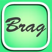 iPhone、iPadアプリ「自慢や幸せ限定の匿名つぶやきSNS「ブラッガーツ」」のアイコン