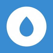 iPhone、iPadアプリ「わたしの水バランス:毎日の飲み物トラッカーとリマインダー」のアイコン