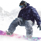iPhone、iPadアプリ「Snowboard Party」のアイコン