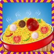 iPhone、iPadアプリ「麺メーカー - クレイジーシェフキッチン冒険とスパイシー料理ゲーム」のアイコン