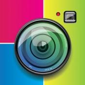 iPhone、iPadアプリ「簡単写真コラージュメーカー - 家族、ウェディングや雑誌フォトフレーム編集者」のアイコン