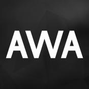 iPhone、iPadアプリ「音楽アプリ AWA」のアイコン