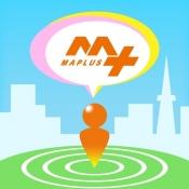 iPhone、iPadアプリ「MAPLUSキャラdeナビ 地図・ナビ・渋滞情報」のアイコン