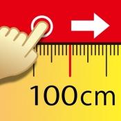 iPhone、iPadアプリ「100cm定規」のアイコン