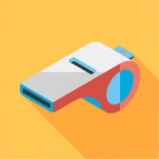 iPhone、iPadアプリ「Daily office workout reminders & exercises to stay healthy and relieve stress with HealthKit by OfficeHealth」のアイコン